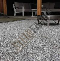 Dolomitsplitt silver-grey Garten