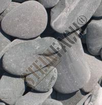 Flat pebbles Grün