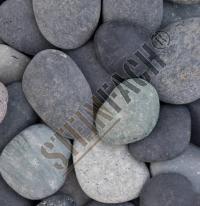Beach pebbles black 16/25mm