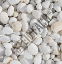 Crystal White pebbles 8/16