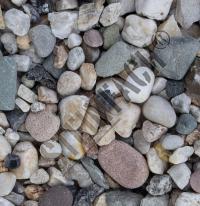 White pebbles 8/16