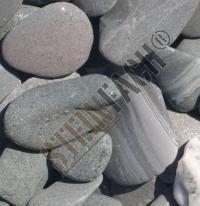 Flat pebbles vert 30/60