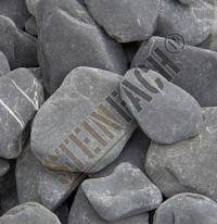 Flat pebbles noir 30/60mm