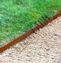 Multi-Edge METAL bordure Corten