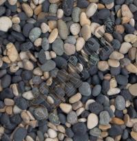 Natural Blend Pebbles 5/8mm